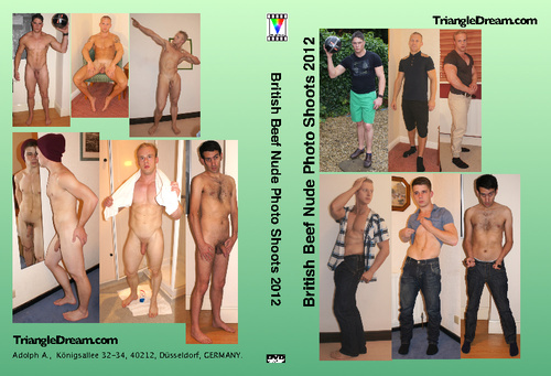 British Beef Nude Photo Shoots 2012 Home DVD