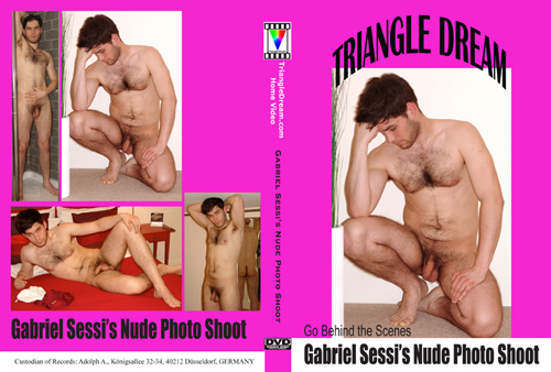 Gabriel Sessi's Nude Photo Shoot Home DVD