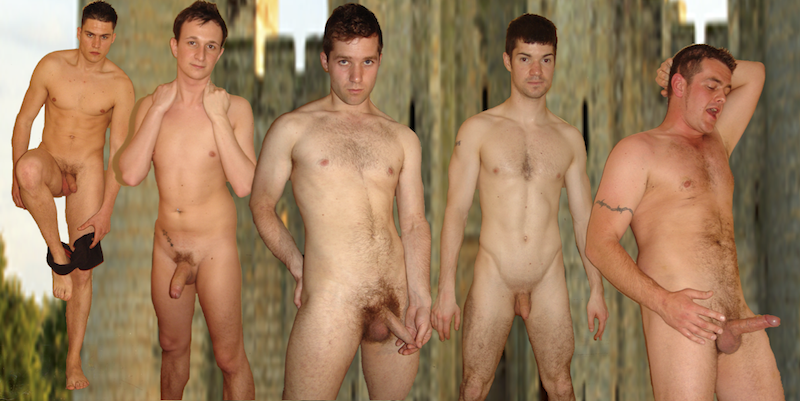 Naked british guys